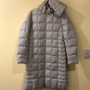 Parka- 100% polyester insulation goose down 80%